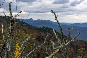 View of Table Rock from Bald Knob