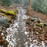 Ice and Snow on the Wildcat Rock Trail