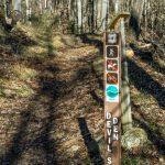 Devils Den Nature Trail Sign