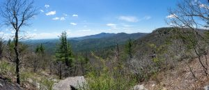 Panoramic View from Lookout 3 on Chinquapin Mountain