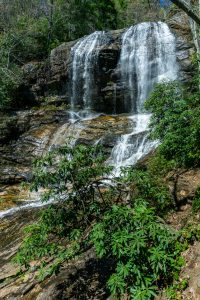 View of Glen Falls from the Observation Platform