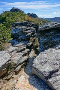 Mountains to Sea Trail Through Cleft