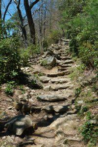 Rocky Table Rock Trail