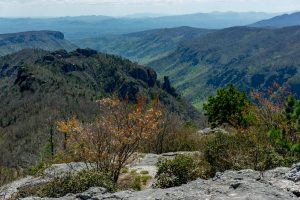 Southern Linville Gorge from Table Rock