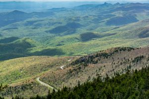 View Toward Linville Gorge