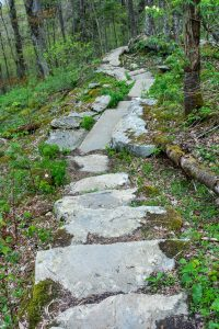 Stonework on the Profile Trail