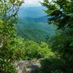 View from Buncombe Horse Range Trail