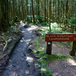 Sign for Black Mountain Campground